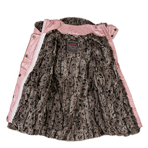 3dae4f908d6ca Catimini Girl s Parka Nomade Coat, Pink (Bois DE Rose 33), 4 Years (Size   4A)  Amazon.co.uk  Clothing