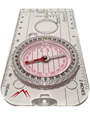 The Adventure Warehouse Navigation Compass for Expedition Map reading, Orienteering and Survival Mountaineering or Hiking- Fully Waterproof and Explorer ready