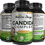 Natural Candida Cleanse - Yeast Detox Supplement with Probiotic + Oregano Leaf Oil Extract - Probiotic Formula for Yeast Infection Support for Men + Women - Cleanser and Weight Loss – Natures Design