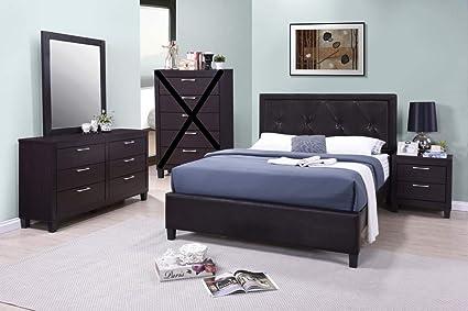 GTU Furniture Contemporary Styling Espresso 4Pc