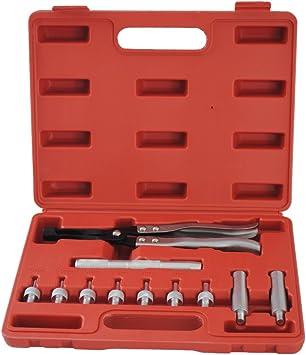 Set di attrezzi per smontare e montare le guarnizioni dello stelo valvola con pinza attrezzi specifici per valvole