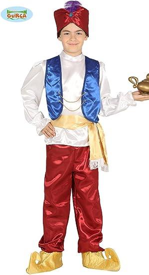 Guirca - Disfraz de ladrón del Desierto para niño, Multicolor, 10 ...