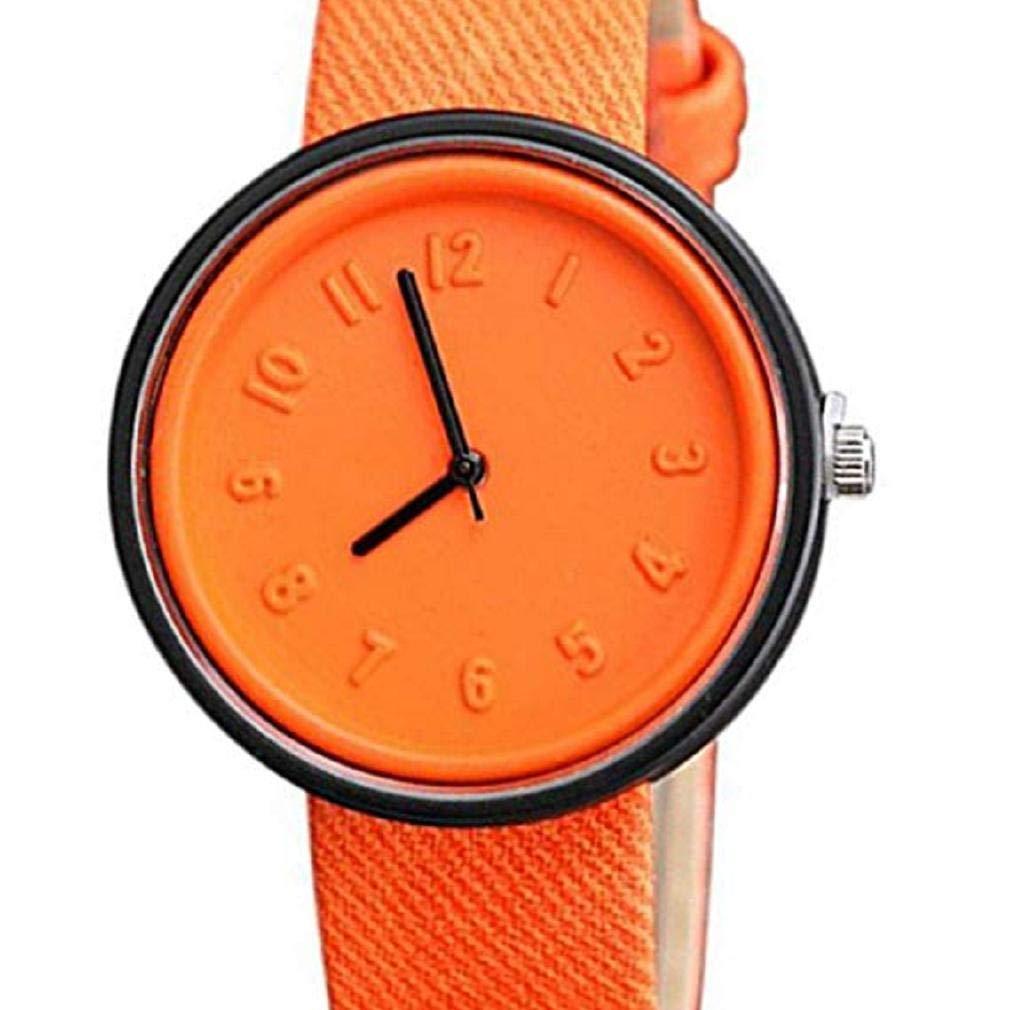 Relojes de Cuarzo para Mujer, Relojes de señora de la Manera análogos únicos de la Moda Relojes Femeninos Relojes Casuales del número para Las Mujeres ...