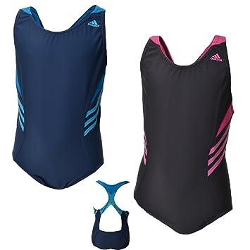 am besten kaufen vorbestellen Sonderangebot Adidas Junior Badeanzug für Mädchen - O59722 - Schwarz - 164 ...