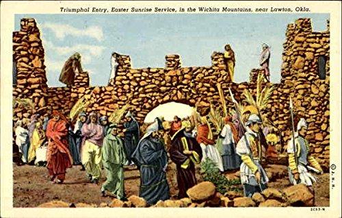 Triumphal Entry Lawton, Oklahoma Original Vintage Postcard