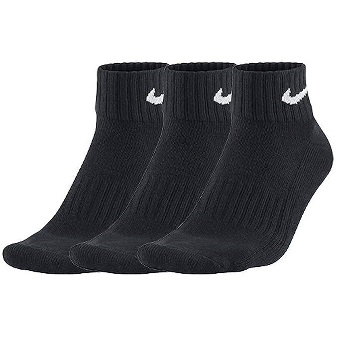 Nike One Quarter Socks 3PPK Value Calcetines para Hombre
