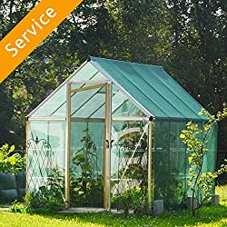 Greenhouse Assembly - Plastic Covering