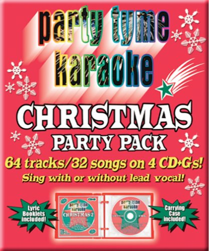 Party Tyme Karaoke - Christmas Party Pack (32+32-song Party Pack) [4 CD]