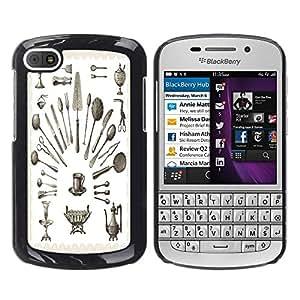 Dragon Case - FOR BlackBerry Q10 - you are the only one? - Caja protectora de pl??stico duro de la cubierta Dise?¡Ào Slim Fit