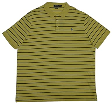 Mens Yellow Touch PoloIndia Lauren Polo Ralph Classic Soft Fit SqUzMpV