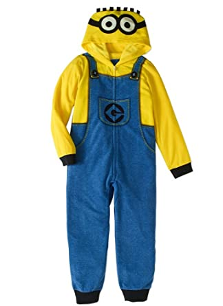 5697c44d9 Amazon.com  AME Despicable Me Boys Size 8 Fleece Hooded Minion ...