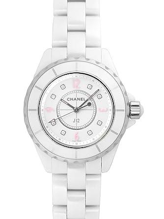 competitive price 5714b f6869 Amazon   [シャネル] CHANEL 腕時計 J12 ピンクライト 33ミリ ...