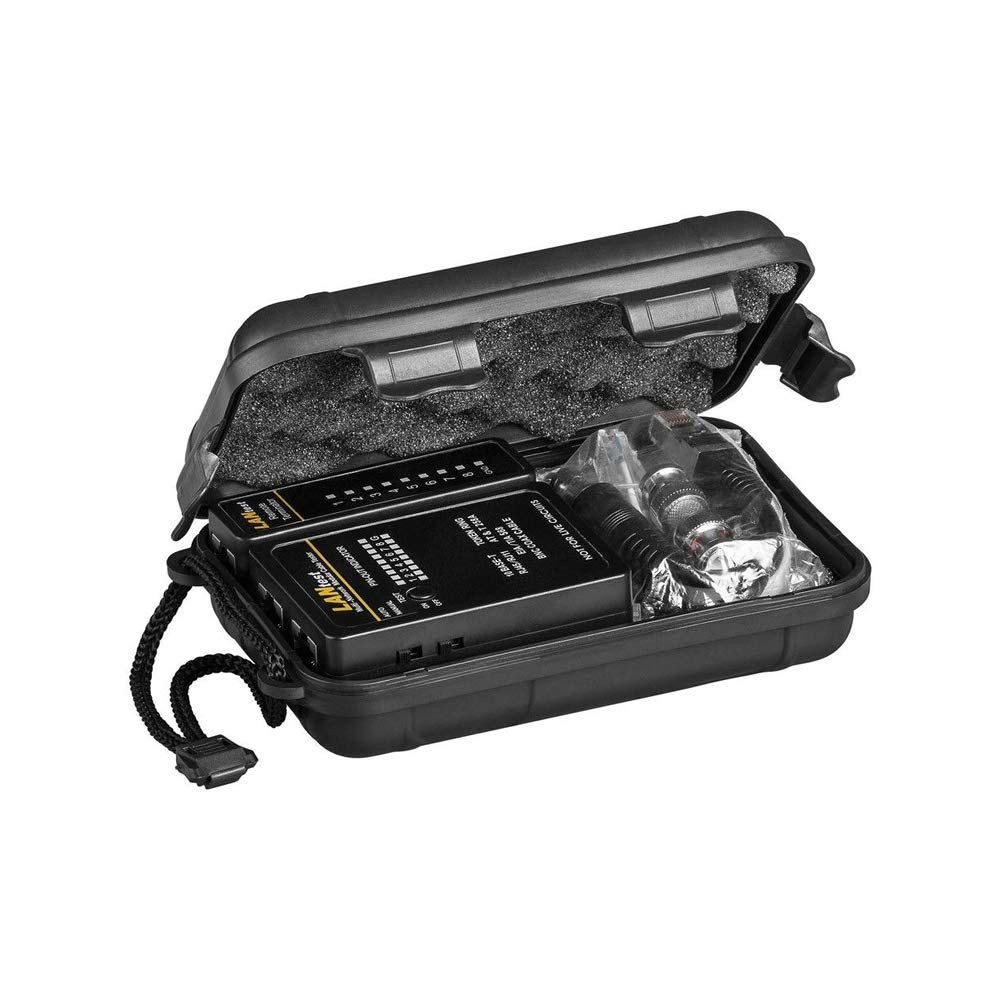RJ45 ISDN BNC CAT5 RJ12 CAT6 Leitungstester // Netzwerktester // Kabeltester f/ür RJ11