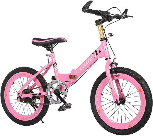 Bicicleta para niños Bicicleta Plegable para niños de 18/20 ...