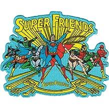 Superman & Friends DC Comics Movie Iron On Patch - Group Super Friends Applique