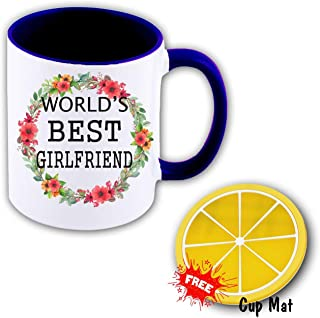 World's Best Love Ever 11 oz Mug Inside The Color Cup Color Changing Cup, The Best Gift Cup, Birthday Present.Multiple Colors to Choose from