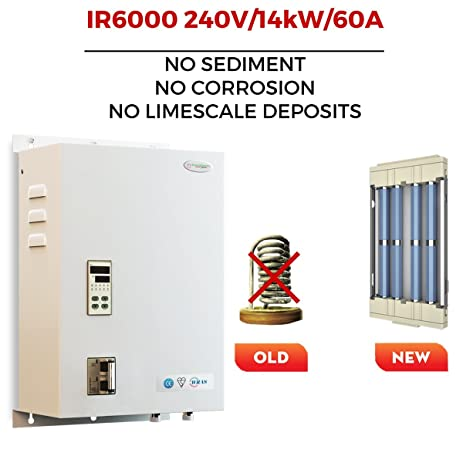 SioGreen IR6000 240V14kW60A Infrared Electric Hot Tankless Water