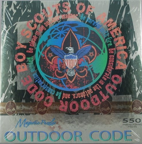 - Boy Scouts of America Outdoor Code 550 Piece Majestic Puzzle