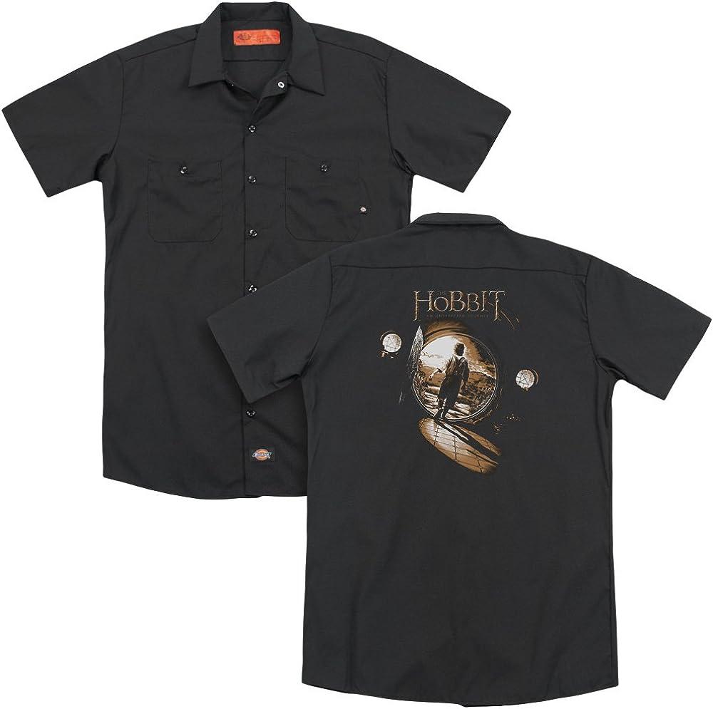 The Hobbit Hobbit Hole Adult Work Shirt