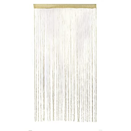 Window String Curtain Door Fly Screen Tassel Home Cafe 200*100cm Wall Decoration