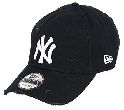 Unbekannt New Era 9forty Strapback Gorra MLB New York Yankees NY Distressed  Black 93853eb5554
