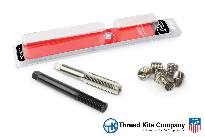 Perma Coil 1208-107 Thread Repair Kit 7/16-14 6PC Helicoil 5401-7