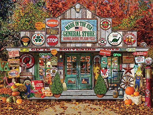 White Mountain Puzzles General Store - 1000 Piece Jigsaw Puzzle -