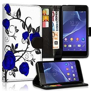 Wallet Wicostar–Funda Case Funda Carcasa Funda De Diseño Para Nokia Lumia 520–Diseño Flip mvd279