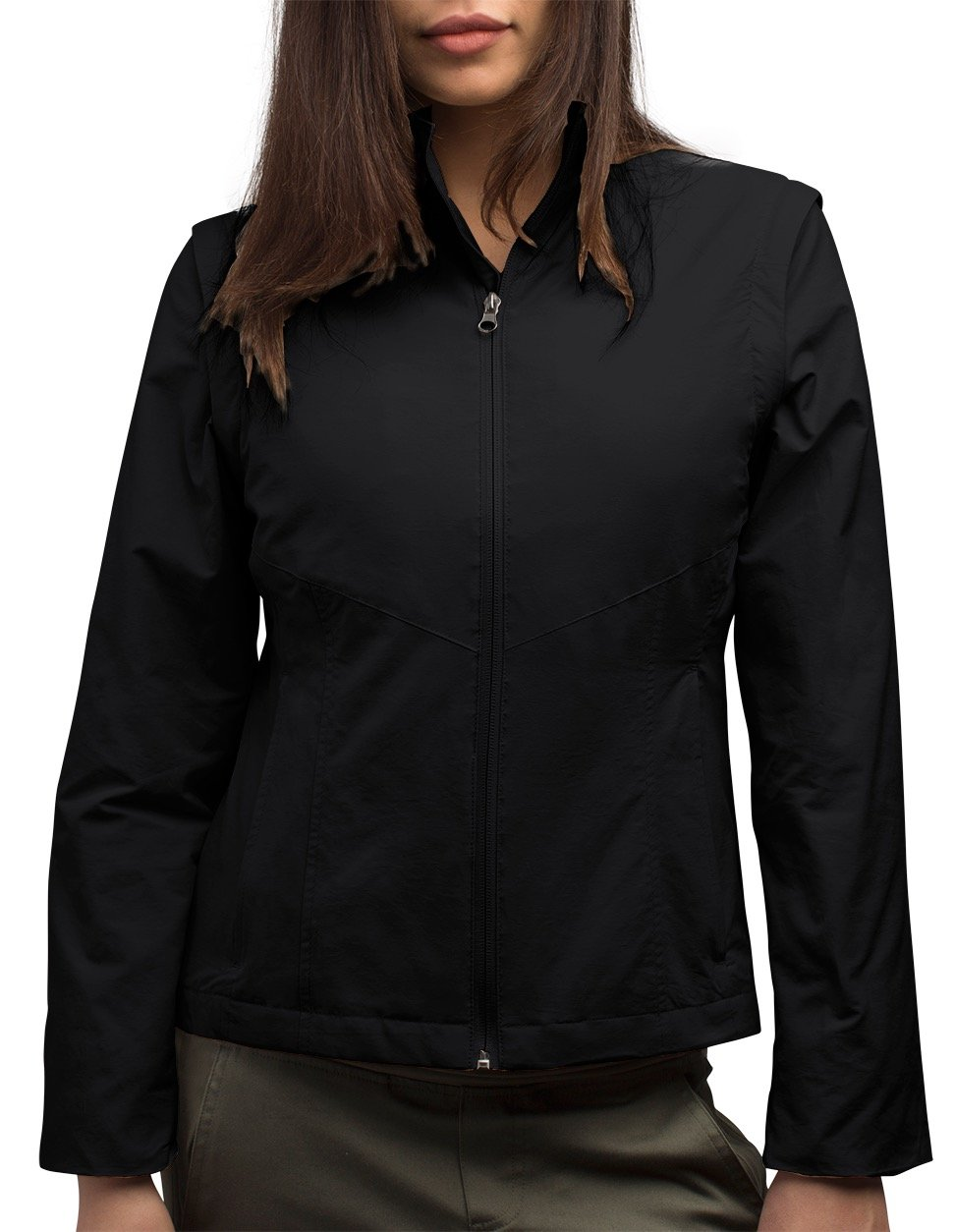 Women's SCOTTeVEST Jacket - 23 Pockets - Travel Clothing BLK M2 by SCOTTeVEST