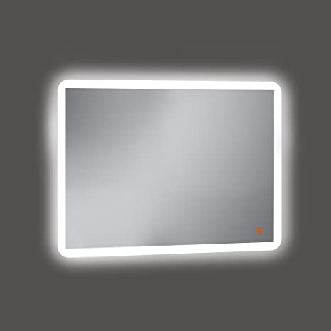 Amazon Com Kristaled Bathroom Mirror With Led Backlight Glass