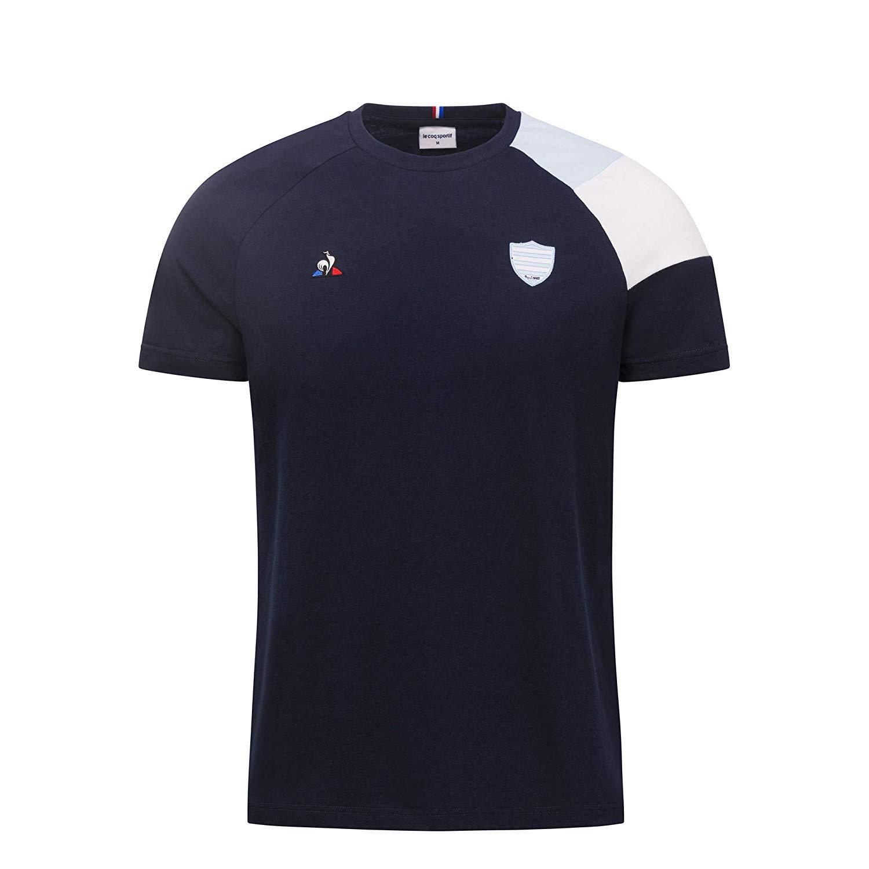 Las COQ Adulto Camiseta Algodón Racing Rugby para Hombre, L ...