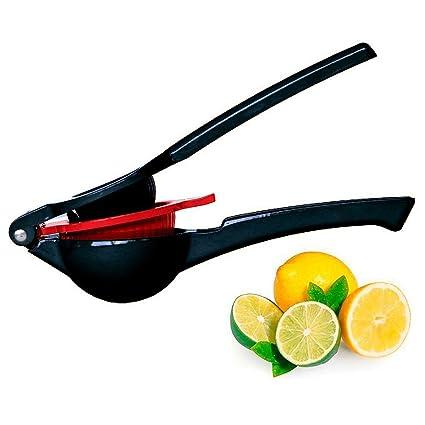 LUFA Exprimidor de limón Exprimidor de capas dobles Aleación de aluminio Exprimidor de exprimidor manual de