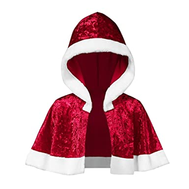 FELZ Vestido Navidad Mujer Rojo Traje Mujer O-Neck Impresa Manga ...