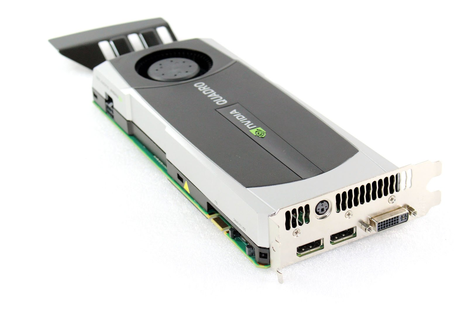 HP 616078-001 NVIDIA Quadro 6000 PCIe graphics card - With 6.0GB GDDR5 GPU memory, max resolution 2560x1600, max power consumption 204Watt, one Dual Link DVI-I and two DisplayPorts connections by NVIDIA (Image #7)