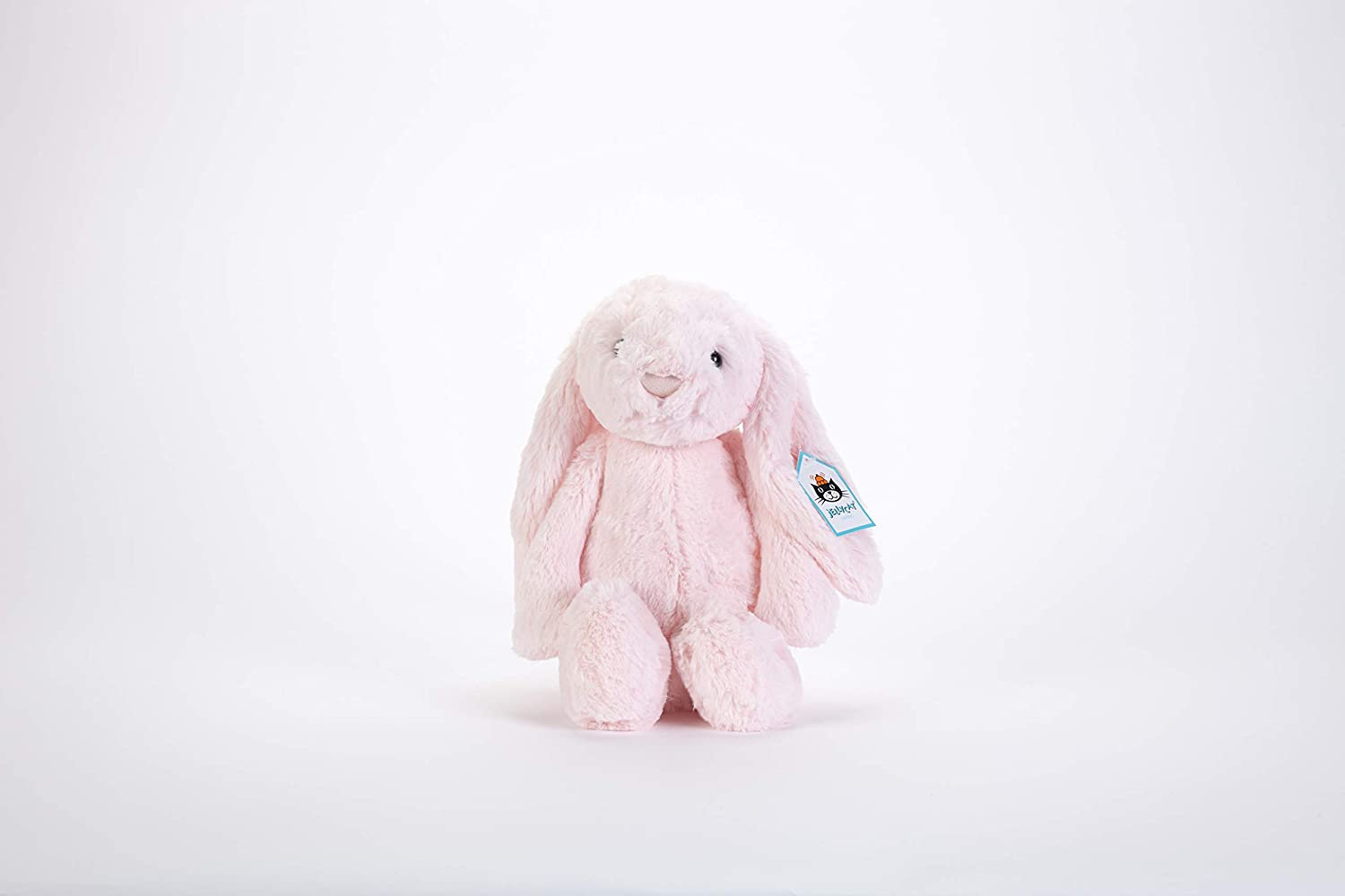Jellycat Bashful Pink Bunny Soother Blankie SOB444P