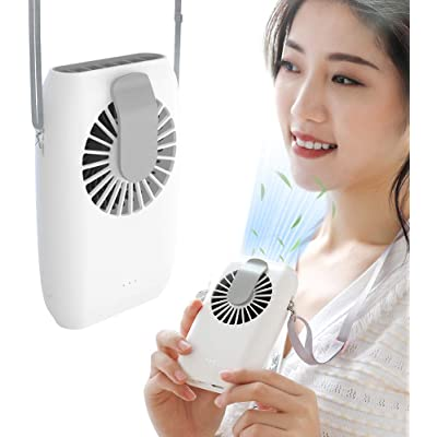 FYL 首掛け&腰ベルト取付対応 ハンズフリー扇風機 送料込891円