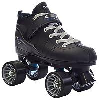 Black Pacer Mach-5 GTX500 Quad Speed Roller Skates - quad speed skates reviews