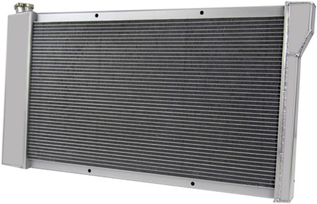 Primecooling 4 Row All Aluminum Radiator for GMC// Chevy Blazer Jimmy C//K Series C10 C20 C30 K10 K20 K30 1967-72 Prime Cooling CHAOGSXH-CHEV-0032