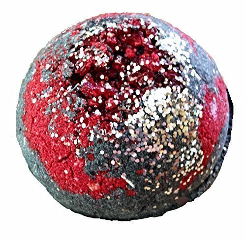 Soapie Shoppe Infinity Bath Bomb Smells Like Champagne & Pomegranate, 8 Ounce -