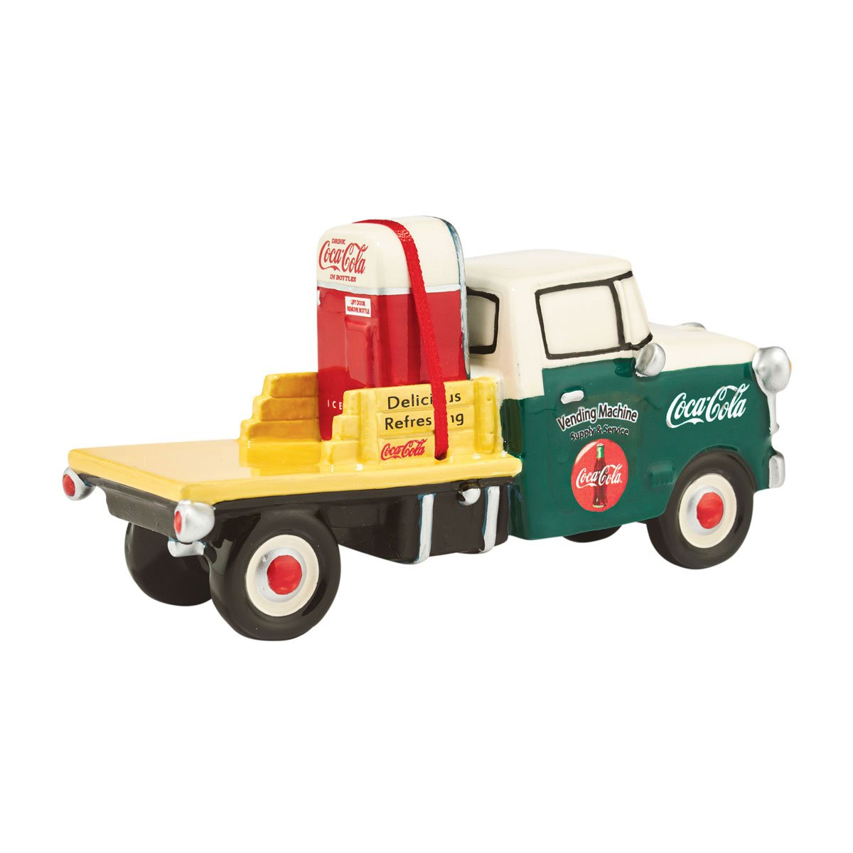 Department 56 Original Snow Village Coca-Cola Service Truck