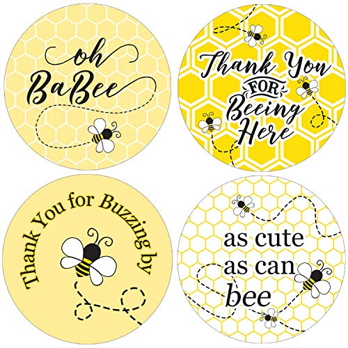 Bumble Bee Baby Shower Favor Labels | 1.75