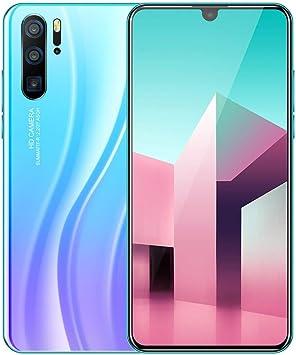 Teléfono Celular con cámara Dual HD de 6.3 Pulgadas, Android 9.1, 10 núcleos, 3 G, batería desbloqueada para Smartphone de 4800 mAh, Dual SIM, 1 G RAM + 16 GB ROM: Amazon.es: Electrónica