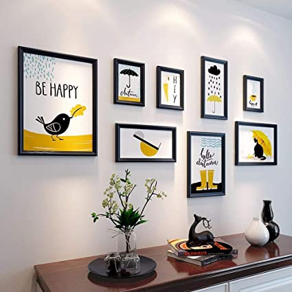 Amazon.com - WUXK The Living Room Wall Paintings Photos Modern ...