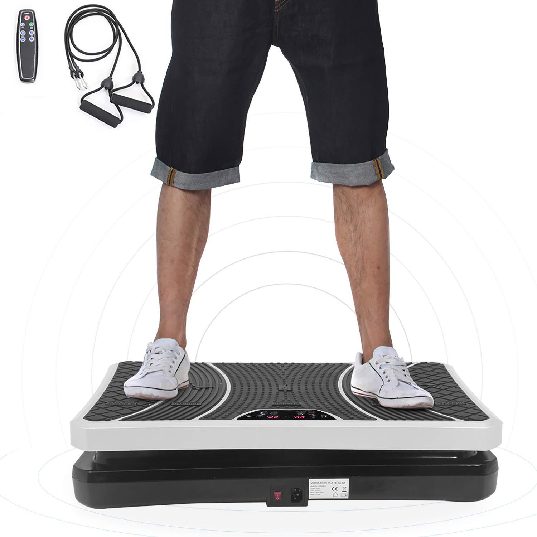 ISE Home Vibration Plate Placa Oscilante 4 programas con Correas ...