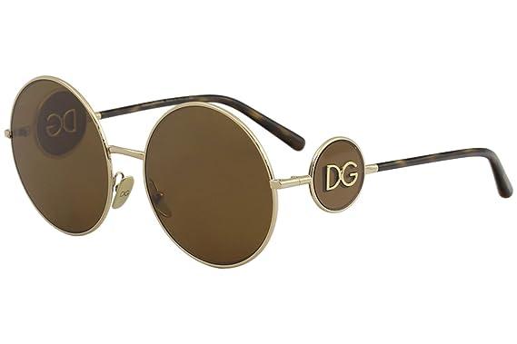 Dolce & Gabbana 0DG2205 Gafas de sol, Gold, 59 para Mujer ...