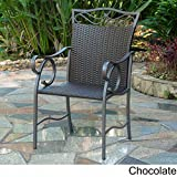 Cheap Set of 2 Valencia Resin Wicker/Steel Chairs