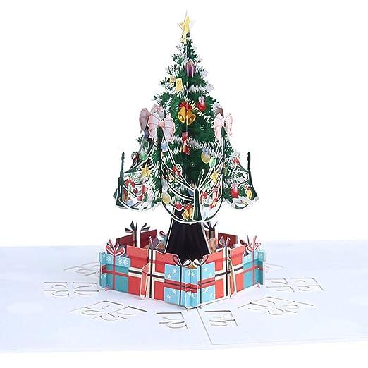 Outflower. Navidad 3D Tarjeta de Felicitación, Invitación ...
