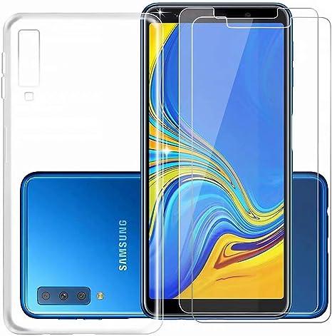 Samsung Galaxy A9 2018 Funda y Protector de Pantalla *2, MISSDU ...
