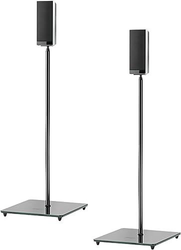 OmniMount ELO Speaker Stand, High Gloss Black
