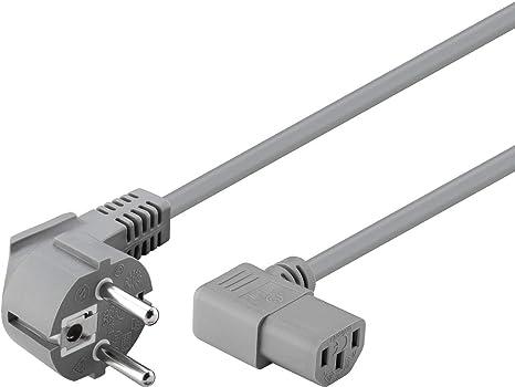 Goobay 50079 Kaltgeräte Anschlusskabel Beidseitig Elektronik
